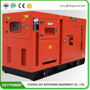 73 kVA de potencia principal generador de cuatro cilindros con dosel silenciosa
