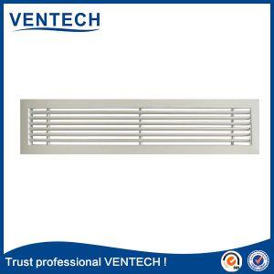 Grelha de ar linear para o sistema HVAC