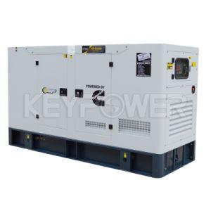 Шесть цилиндров 50Гц Silent тип дизельного генератора, 180kav Основная мощность