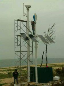 Pequeño generador de viento vertical Azotea-Montado del eje de 500W 12V 24V