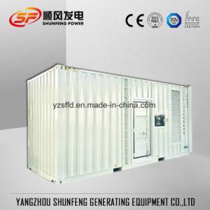 방음 콘테이너 1250kVA 미츠비시 전기 힘 디젤 발전기