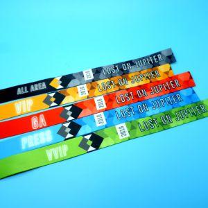 RFID NFCのイベントのための祝祭によって編まれる休日のブレスレットをカスタム設計しなさい