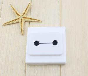 Tampa do Interruptor de borracha de silicone, tampa de protecção da caixa do Interruptor da Luz de Silicone