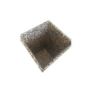 Grau de uma forma redonda com jardim exterior colorido EPP Flowerpot vegetais