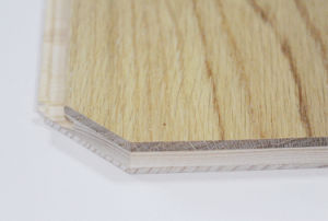 Haga clic en Bloquear sin pegar ingeniería de suelos de madera de roble