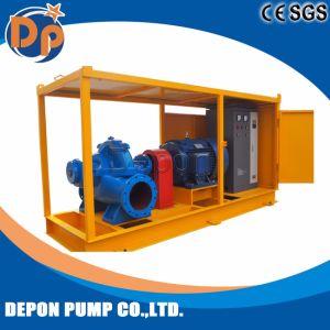 Aufgeteilte Fall-Trinkwasser-Pumpe mit Rad-Schlussteil