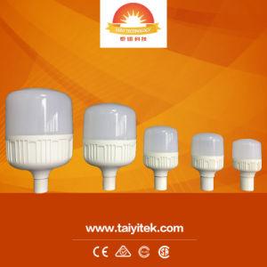 9W 15W 20W 28W 38W 48W 58W 68W T forme Ampoule de LED haute puissance en aluminium léger La lampe E27 B22 6500K