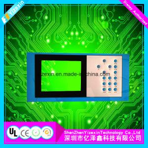 Comitato grafico ricoperto membrana della finestra di visualizzazione dell'affissione a cristalli liquidi di strumentazione inclusa