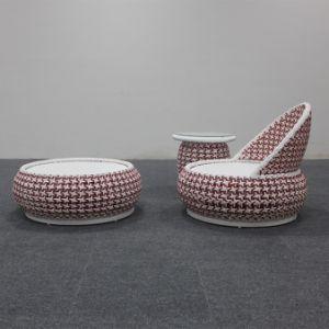 2018 года нового стиля удобные Garden обставлены плетеной один стул,