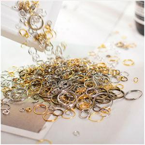 De in het groot Toebehoren van Juwelen DIY kiezen de Dubbele Gesloten Ring van de Cirkel uit Aansluting