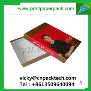 すごく設計され、印刷された織物は贅沢な織物ボックスを囲む