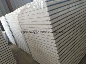 Cheap PPGI Plaque en acier de couleur avec EPS Panneau mural sandwich à isolation thermique pour la structure des matériaux de construction de la chambre