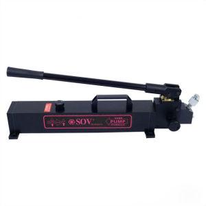 良質の超高圧油圧ハンドポンプSOV Pシリーズは油圧ジャックと一致した