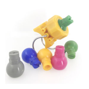 traitement de surface en plastique de la cosse à oeillet de fermeture de buse réglable