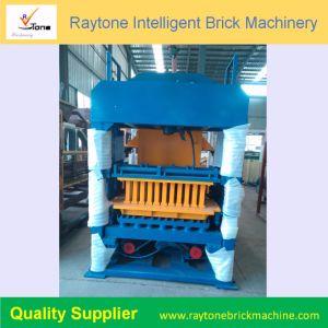 Qt4-15 hidráulica automática máquina de fabricación de ladrillos huecos de la pavimentación de bloque de hormigón