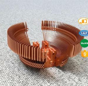 カスタマイズされたスタックされたアルミニウムひれの銅の管脱熱器