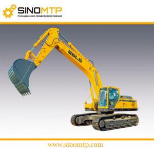 Grande escavatore a cucchiaia rovescia idraulico/escavatore di SDLG 2cubic LG6400E