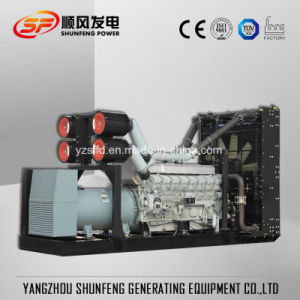 防音の容器1250kVA三菱電機力のディーゼル発電機