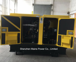 30kVA Perkin Generador Diesel insonorizado Alojamiento MP30e generador de Perkin