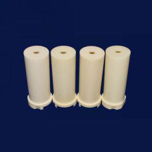 Tubo di ceramica Al2O3 del manicotto di calore dell'allumina di ceramica lavorabile alla macchina di conducibilità