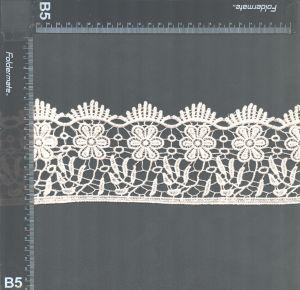 Fantasía de algodón bordado de encaje de química de los diseños para damas