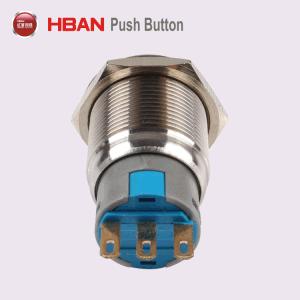 Interruttore chiave del metallo del RoHS del CE di Hban (19mm) 2position 3position