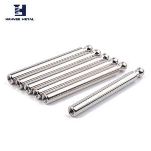 自動車部品のNickel-Plated金属はUリンクによって通されたPinの鋼鉄合せ釘ピンに通した