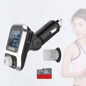 Diseño de Moda transmisor FM Bluetooth Car Kit coche Bluetooth MP3 Player con cargador de coche Bluetooth manos libres