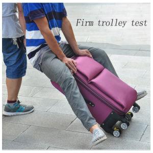 مصنع [وهولسلس] يمدّد عجلات متعدّد اتّجاهيّة 360 درجات مع متينة سبيكة حامل متحرّك حقيبة غزال [أإكسفورد] حقيبة