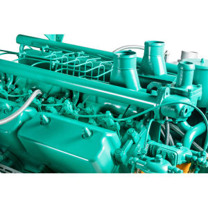 물은 12 실린더 Kt27g755tld 디젤 엔진을 냉각했다