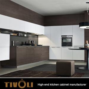 De Keukenkast van het Ontwerp van de Douane van de Hoge Norm van Duitsland Qaulity voor Hoge Stijging en Penthouse TV-0004