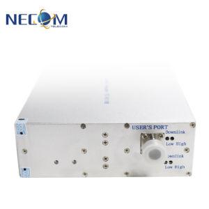 GSM900&Dcs1800MHz de Dubbele Repeater van het Signaal van de Band Hulp, Mobiele Radio, de Draadloze Stoorzender van het Signaal