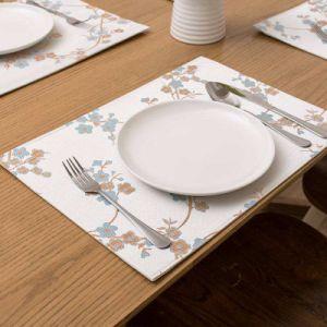 Tapete de cozinha doméstica Personalizado colorido Placemat de PVC (CCI958)