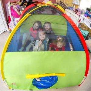 فرقعت فوق داخليّة خارجيّة قبّة أطفال جدية لعبة زحف خيمة