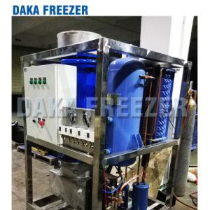 1 tonne Tube Making Machine de glace pour la conservation des aliments