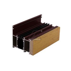 Алюминиевая Теплоизоляция поломка моста двери профиль для изготовителей оборудования