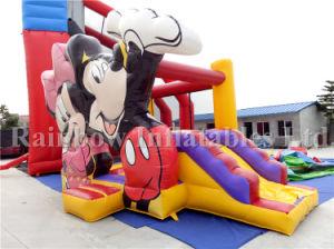 販売、膨脹可能な跳躍の警備員のスライドのための安く膨脹可能な警備員