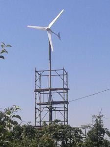 2000W hors réseau Turbine éolienne à axe horizontal