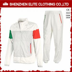 Bianco d'avanguardia della tuta sportiva di alta qualità di più nuovo modo di disegno 2017 (ELTTI-29)