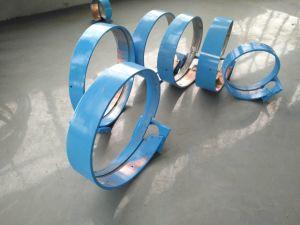 Gewundene Leitung, die Maschine für die runde Luftröhre bildet Produktion bildet