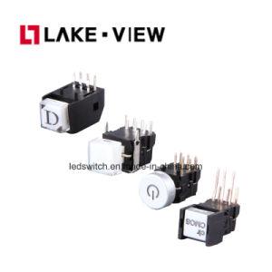 Interruttore di pulsante del LED con il formato personalizzato della protezione disponibile
