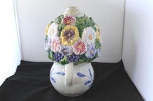 Файл Cookie Jar смешение цветов Vintage JC Пенни керамические
