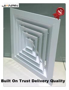 Registo de ventilação em alumínio AC abrange Difusor do Teto