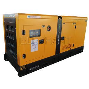 55kVA insonorisées 4 coups et de générateurs diesel refroidi par eau