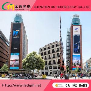 La difficoltà esterna di P10mm installa la pubblicità piena del video a colori del tabellone per le affissioni del LED
