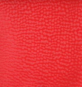 Venta caliente de prendas de vestir de cuero con rollos de PU