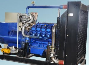 6 цилиндра 100квт продюсер газогенератора