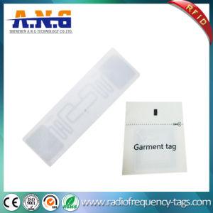 길쌈된 인쇄된 RFID 피복 꼬리표 RFID 의복 걸림새 꼬리표