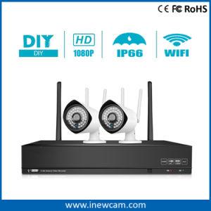 ホームセキュリティーのための無線4CH 2MP CCTVの監視NVRキット