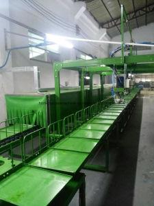 línea de maquinaria para la elaboración de suela PU